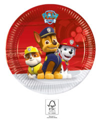 Paw Patrol Ready for Action - Paper Plates 20 cm. FSC. - 93487
