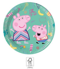 Peppa Pig Messy Play - Paper Plates 20 cm. FSC. - 93488
