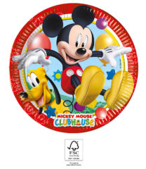 Playful Mickey - Paper Plates 20 cm. FSC. - 93490
