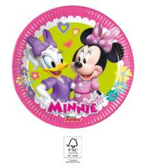 Minnie Happy Helpers - Paper Plates 20 cm. FSC. - 93491