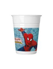 Ultimate Spider-Man Web Warriors - Plastic Cups 200ml - 85153