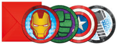Mighty Avengers - Die-cut Invitations & Envelopes - 87970