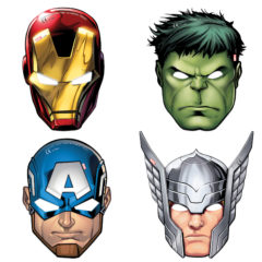 Mighty Avengers - Die-cut Masks - 87976