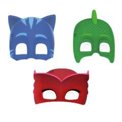 Pj Masks - Die Cut Masks (3 Mixed Designs) - 89351