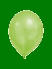 Latex Balloons - Metallic Pastel Balloons Green - 90340