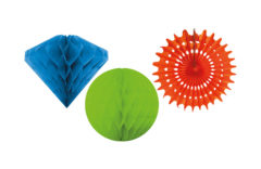 Garlands - Honeycomb Hanging Decoration Kit - 90688