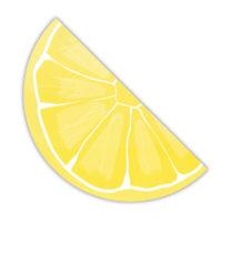 Lemons - Three-Ply Shaped Paper Napkins 33x17.3 cm - 90805