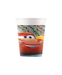 Cars 3 - Paper Cups 200 ml - 90961