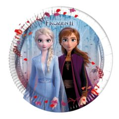 Frozen 2 - Paper Plates 20 cm - 91126