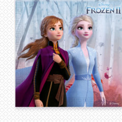 Frozen 2 - Two-Ply Paper Napkins 33x33 cm - 91128