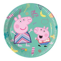 Peppa Pig Messy Play - Paper Plates 20 cm - 91136