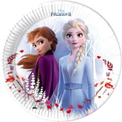Frozen 2 Destiny Awaits - Paper Plates 23 cm Industrial Compostable FSC - 91146
