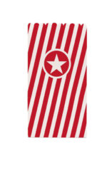 Solid Color New Generation - Red Paper Pop-Corn Bag FSC - 91172