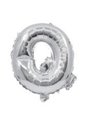 Letter Foil Balloons - Silver Foil Balloon Letter Q - 91266
