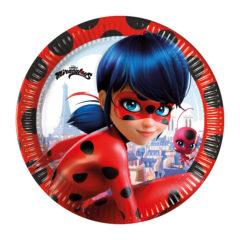 Miraculous Ladybag - Paper Plates 20 cm - 91344