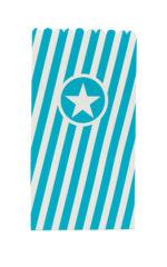 Solid Color New Generation - Turqoise Paper Pop-Corn Bags FSC - 91356
