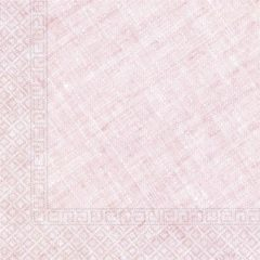 Decorata™ Compostable Solid Colour Collection - Home & Industrial Compostable Pink Three-Ply Napkins 33x33 cm FSC - 91499