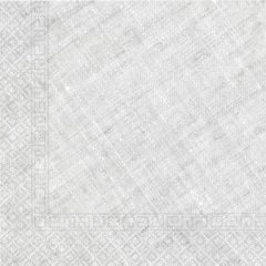 Decorata™ Compostable Solid Colour Collection - Home & Industrial Compostable Grey Three-Ply Napkins 33x33 cm FSC - 91501