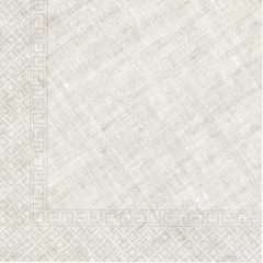 Decorata™ Compostable Solid Colour Collection - Home & Industrial Compostable Tortora Three-Ply Napkins 33x33 cm FSC - 91503