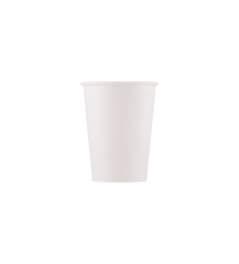 Decorata™ Compostable White Products - Home Compostable White Paper Cups 200 ml PEFC - 91590