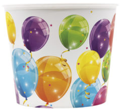 Sparkling Balloons - Reusable Pop-Corn Bucket 2,2 L - 91637