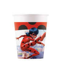 Miraculous Ladybag Compostable - Industrial Compostable Paper Cups 200 ml FSC - 91662