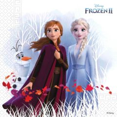 Frozen 2 Destiny Awaits - Three-Ply Paper Napkins 33x33 cm Home & Industrial Compostable FSC - 91732