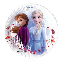 Frozen 2 Destiny Awaits - Paper Plates 20 cm Industrial Compostable FSC - 91851