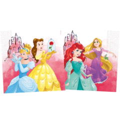 Princess Fabulous - Three-Ply Napkins 33x33 cm Home & Industrial Compostable FSC - 91883