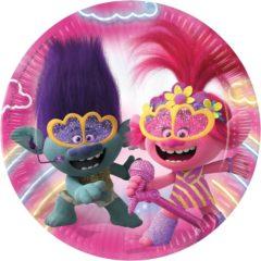 Trolls 2 World Tour - Paper Plates 23 cm - 92141