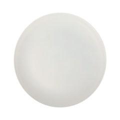 Solid Color Reusable - Light Grey Reusable Plate 20,5 cm - 92162