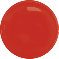 Solid Color Reusable - Solid Red Reusable Plate 23 cm - 92180