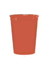 Solid Color Reusable Tableware - Solid Red Reusable Cup 320 ml - 92182
