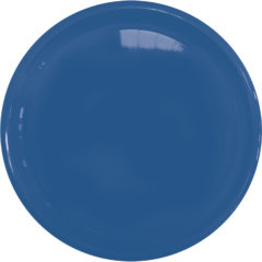Solid Color Reusable Tableware - Solid Blue Reusable Plate 23 cm - 92183
