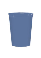 Solid Color Reusable Tableware - Solid Blue Reusable Cup 320 ml - 92185