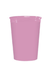 Solid Color Reusable Tableware - Solid Pink Reusable Cup 320 ml - 92188