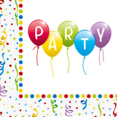 Balloons Party - Two-Ply Paper Napkins 33x33 cm FSC - 92205