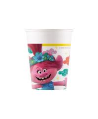 Trolls 2 World Tour - Paper Cups 200 ml - 92218