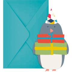 Arctic - Die-cut Invitations & Envelopes - 89747