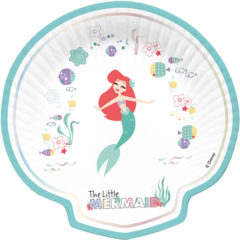 Ariel Under The Sea - Shaped Plates - 89051