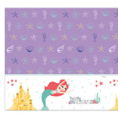 Ariel Under The Sea - Plastic Tablecover 120x180cm - 89055