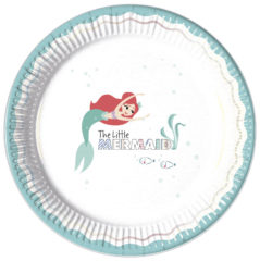 Ariel Under The Sea - Paper Plates Large 23cm
