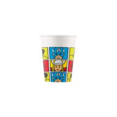 Avengers Pop Comic - Paper Cups 200ml - 89014