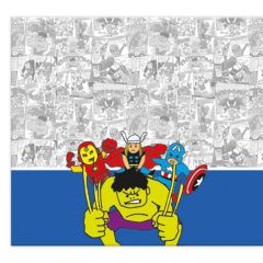 Avengers Pop Comic - Plastic Tablecover 120x180cm - 89016