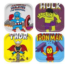 Avengers Pop Comic - Shaped Plates - 89013
