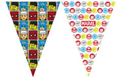 Avengers Team Power - Triangle Flag Banner (9 Flags)