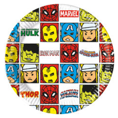 Avengers Team Power - Paper Plates Medium 20cm - 89194
