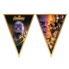 Avengers Infinity War - Triangle Flag Banner (9 Flags) - 89480