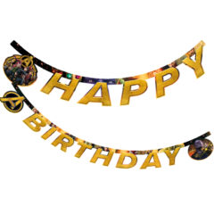 "Avengers Infinity War - ""Happy Birthday"" Die-cut Banner - 89484"