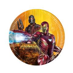 Avengers Infinity War - Paper Plates Medium 20cm - 89616